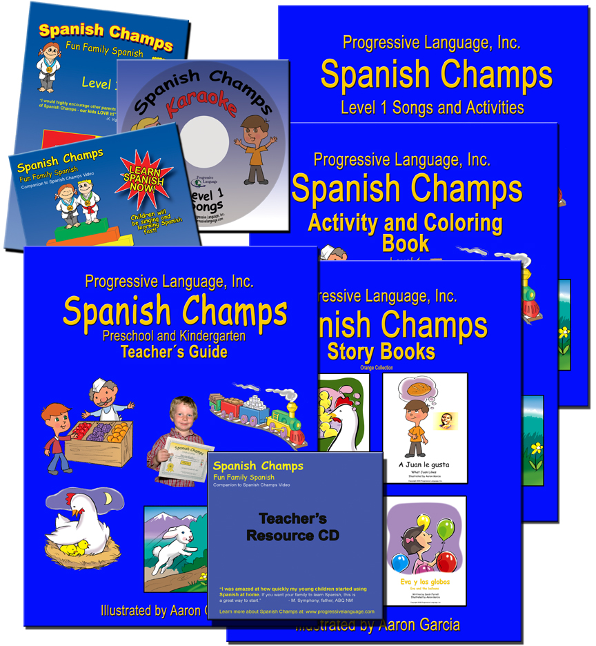 spanish curriculum spanish champs