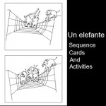 Spanish Songs for Kids: Printable Sequence Cards for Un elefante