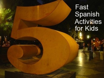 Spanish activities for kids