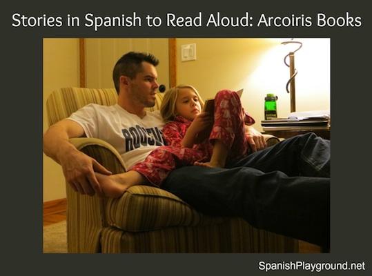 Stories in Spanish from to read aloud to kids.