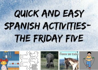 Five quick Spanish activities for fun with kids.
