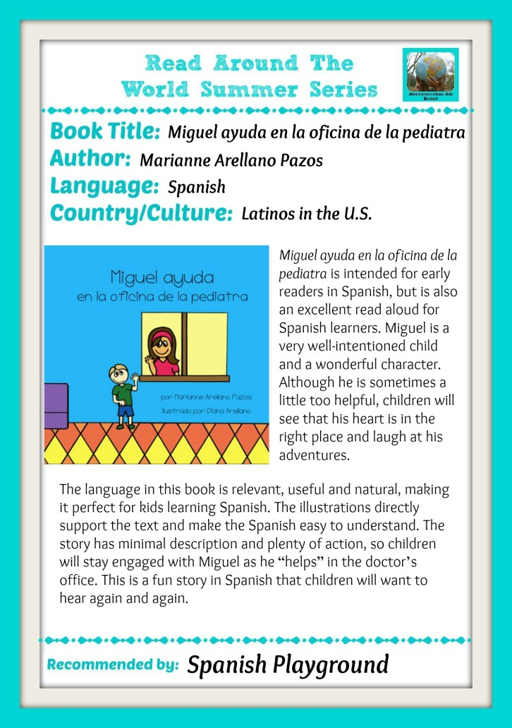 Multicultural books for children from Libros Arellano.