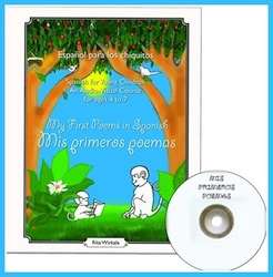 Spanish poems for children with illustrations.