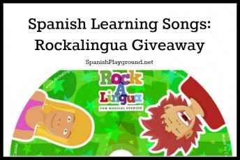 Spanish learning songs from Rockalingua on a new downloadable CD.
