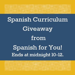 Spanish curriculum giveaway