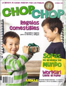 Spanish magazine for kids.