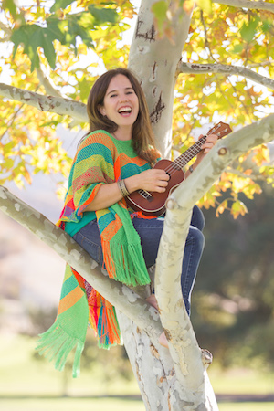 Spanish songs for children on a new CD by Nathalia.