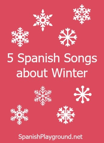 Spanish winter songs for language learners.