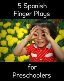 Spanish finger plays.