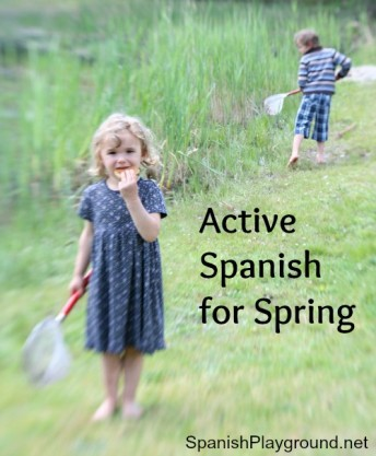 Active Spanish games and songs for language learners.