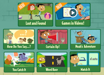 Oh Noah is a digital series to teach children Spanish.