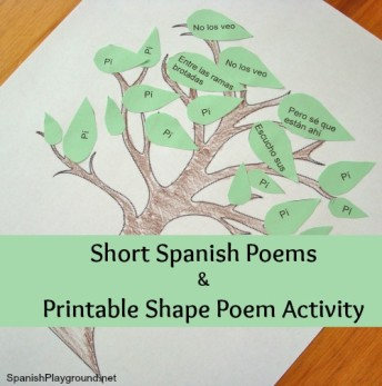 Short Spanish poems by Douglas Wright about spring.