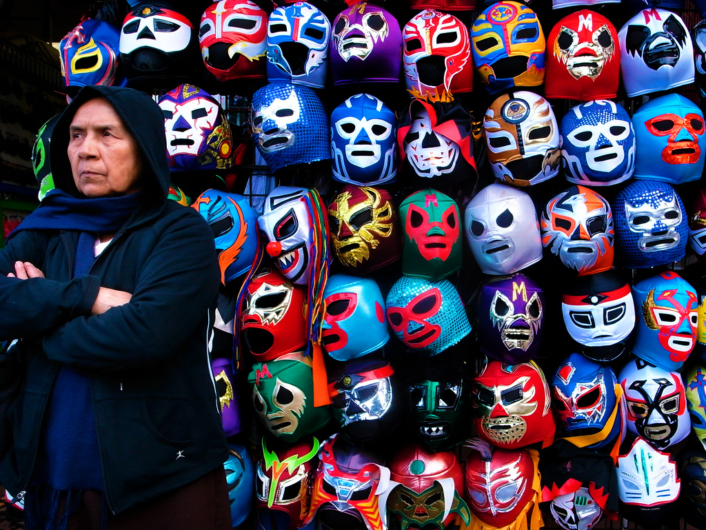 mexican culture lucha libre spanish playground