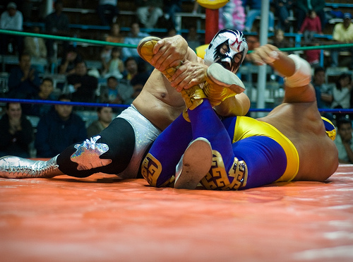 Mexican culture for kids through lucha libre