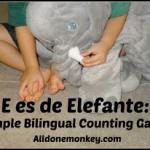 Spanish Songs for Kids - E es de Elefante