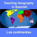 Geography in Spanish: The Continents