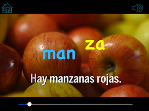 Spanish games for iPad and iPhone immerse kids in language.