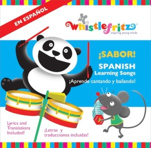New Spanish songs for kids from Whistlefritz.