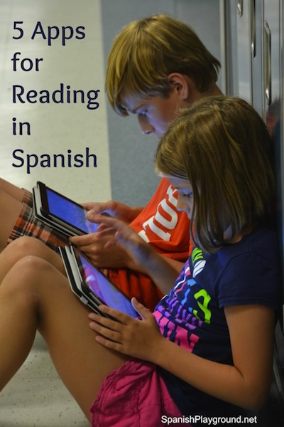 Apps for reading in Spanish.