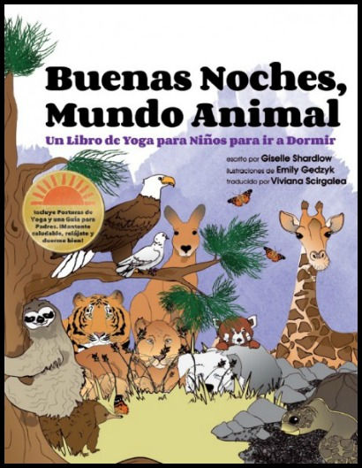 Yoga story in Spanish with animals