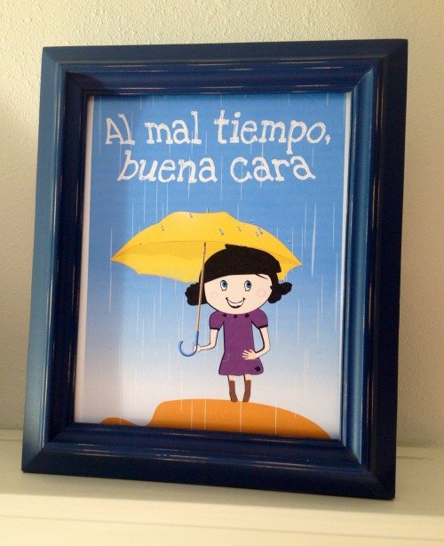 Spanish Proverbs Posters and Coloring
